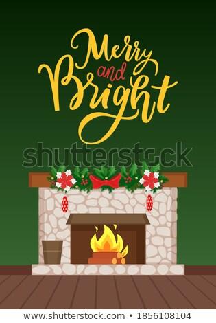 fogueira · ícone · botão · fogo · natureza · assinar - foto stock © robuart
