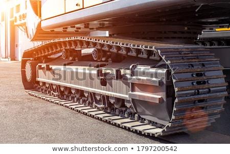 石炭 · シャベル · 黒 · 建設 · 作業 - ストックフォト © oleksandro