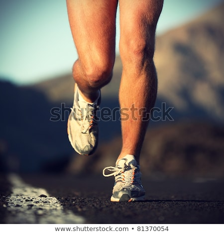 Close-up Of A Running Person Symbol Stock photo © AndreyPopov