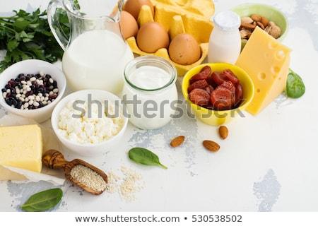 Product rijke vitaminen witte houten Stockfoto © Illia
