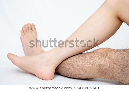 Hombre pelo eliminación estudio tratamiento cara Foto stock © Kzenon