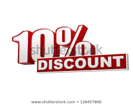 販売 バナー 10 パーセント オフ ストックフォト © robuart
