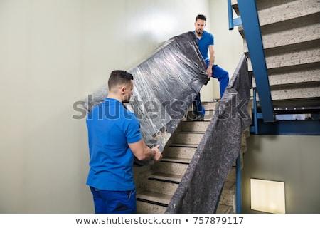 2 ソファ 階段 表示 ストックフォト © AndreyPopov