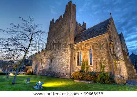 Holy Trinity Abbey Church in Adare, Ireland Stock photo © borisb17