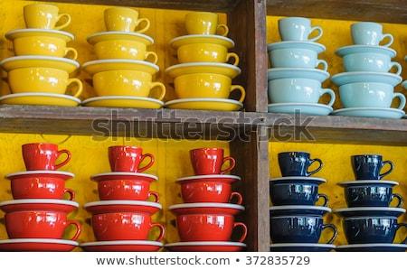 Idée espace organisation cuisine intérieur de cuisine design Photo stock © furmanphoto