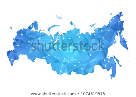 Russia - modern line design style icons set Stock photo © Decorwithme