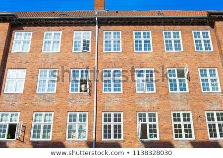 Копенгаген модный недвижимости современных Сток-фото © leeser
