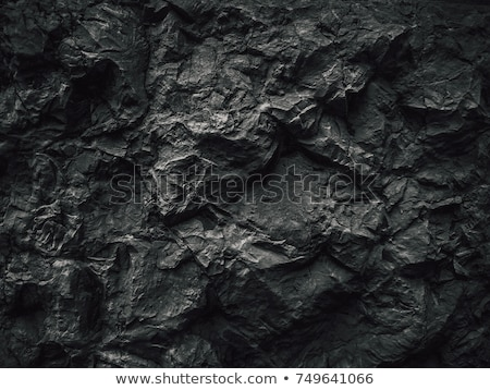 áspero · espécime · preto · carvão · vermelho - foto stock © leungchopan