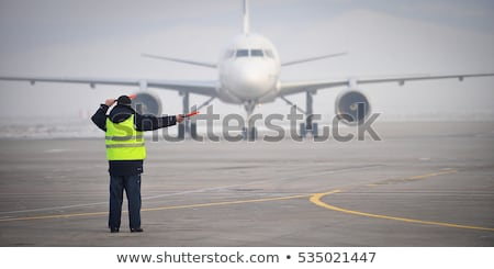 Traffic worker directing Stock photo © photography33
