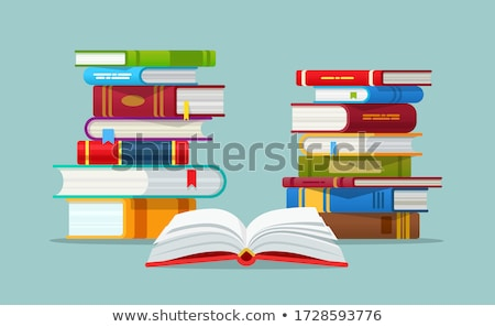 e book and books Stock photo © luapvision