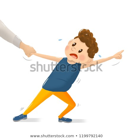 Child having a temper tantrum Stock photo © photography33