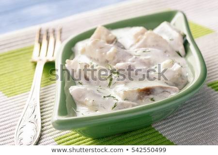 Cream herring Stock photo © joker