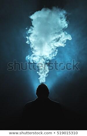 человека освещение сигарету черным человеком черный огня Сток-фото © wavebreak_media