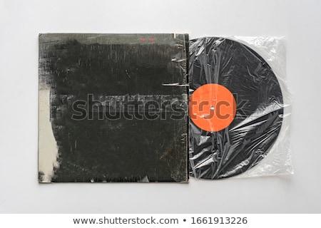 Lp vinil disk bağbozumu kayıt görüntü Stok fotoğraf © NiroDesign