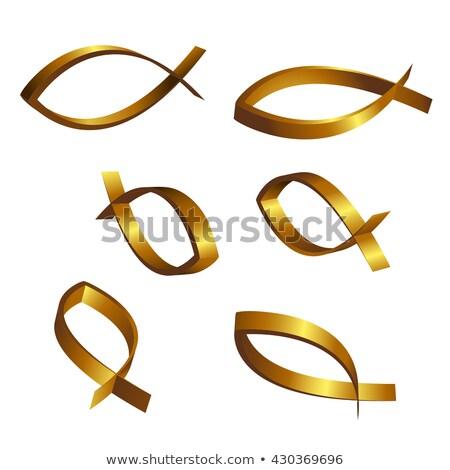 Allegorie drie christenen bidden brug Praag Stockfoto © searagen
