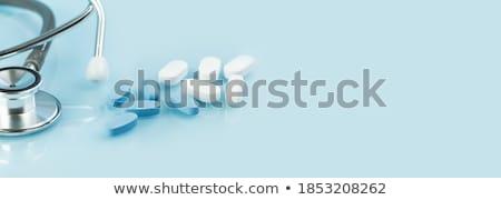 Fájdalomcsillapító nyitva tabletta dobozok tabletták stúdió Stock fotó © jarp17