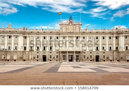király · lovas · szobor · városkép · Madrid · híres - stock fotó © bertl123