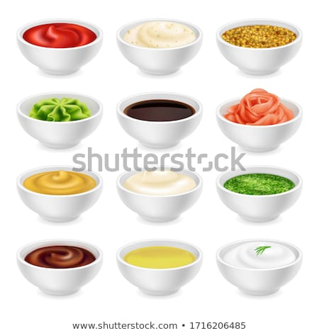 mayonnaise sauce stock photo © m-studio