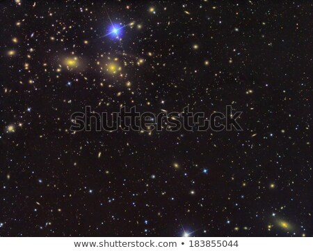 IC3949 Deep field of galaxies stock photo © rwittich