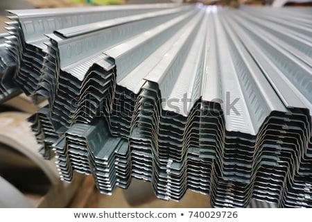 Galvanize steel sheet. Stock photo © stevanovicigor