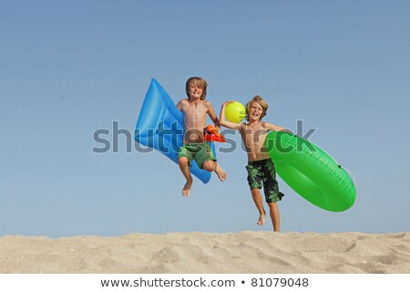 Praia água sol esportes esportes Foto stock © monkey_business