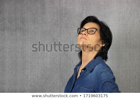 Superior sophisticated young woman Stock photo © dash