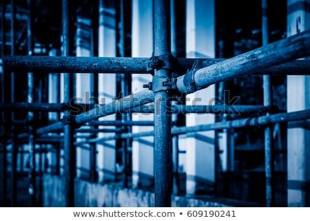 gép · rozsdamentes · acél · izolált · fehér · fém · ipar - stock fotó © gemenacom