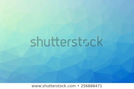 Blauw · mozaiek · abstract · ontwerp · print - stockfoto © davidarts