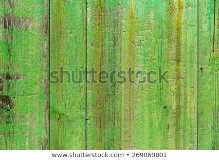 Stockfoto: Oude · binnenstad · groene · deur · houtstructuur · majorca