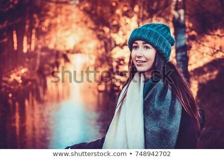 autumnwinter portrait stock photo © lightpoet