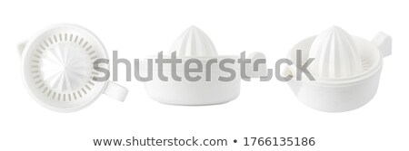 manual citrus press juicer isolated Stock photo © zkruger