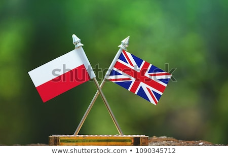 United Kingdom and Poland Flags Stock photo © Istanbul2009
