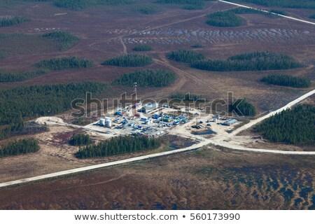 мнение · газ · завода · Нефтяная · промышленность · здании · технологий - Сток-фото © aikon