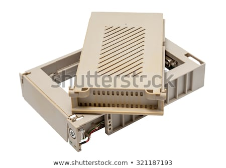 Electronic collection - Used old mobile hdd rack Stock photo © nemalo