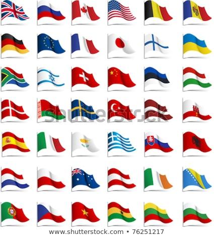 Frankrijk Vietnam vlaggen puzzel geïsoleerd witte Stockfoto © Istanbul2009