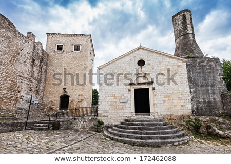 Archeological museum in Old Town, Ulcinj, Montenegro Stock photo © vlad_star