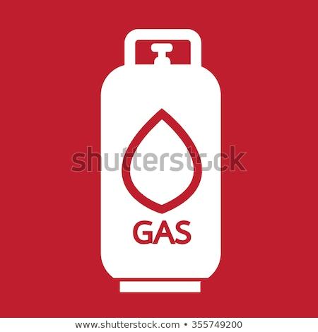 Liquid Propane Gas icon Illustration symbol design Stock photo © kiddaikiddee