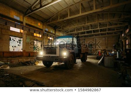 подробность · старые · соль · насос · очистительный · завод · станция - Сток-фото © meinzahn