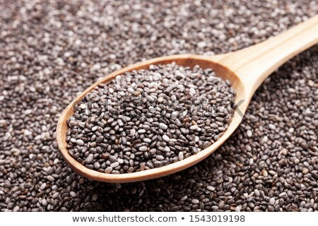 Chia with spoon Stock photo © FOTOYOU