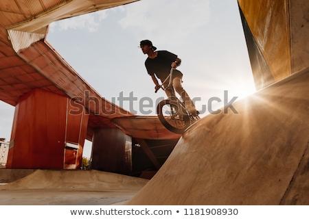 extreme sport bmx Stock photo © OleksandrO