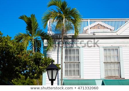 Clé ouest rue Floride maison USA Photo stock © lunamarina