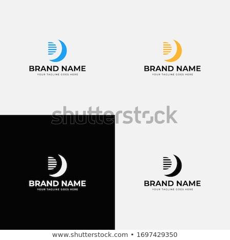 letra · d · design · de · logotipo · modelo · carta · futuro · limpar - foto stock © cidepix