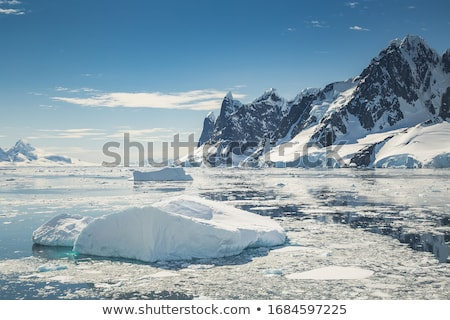 Mont Blanc - Mer de glace glacier Stock photo © Antonio-S
