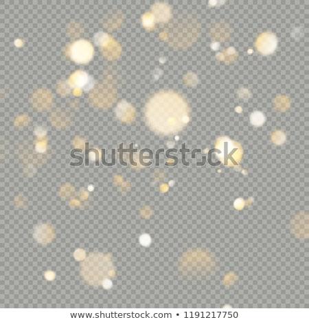 золото · блеск · прозрачный · прибыль · на · акцию · 10 · частицы - Сток-фото © beholdereye