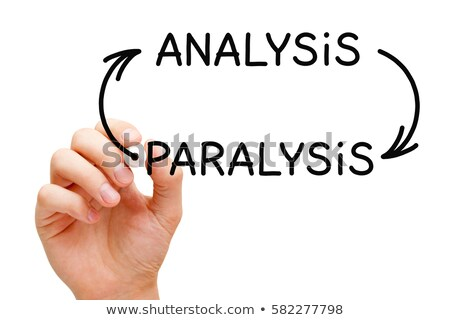 analysis paralysis arrows concept stock photo © ivelin