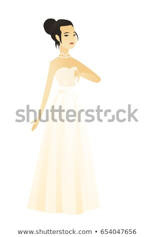 Disappointed fiancee with thumb down. Stock photo © RAStudio