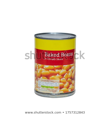 canned white beans Stock photo © Digifoodstock