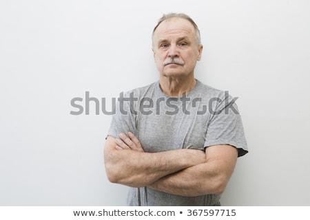 Sérieux portrait homme vraies personnes adulte Photo stock © stevanovicigor