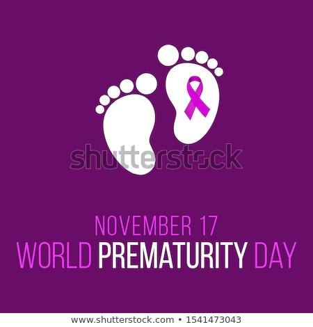 17 november Prematurity Day Stock photo © Olena