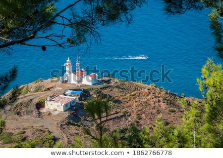 Den Oever Lighthouse Stock photo © benkrut